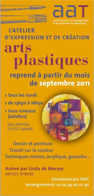 2011 09 reprise de l'atelier Arts Plastiques