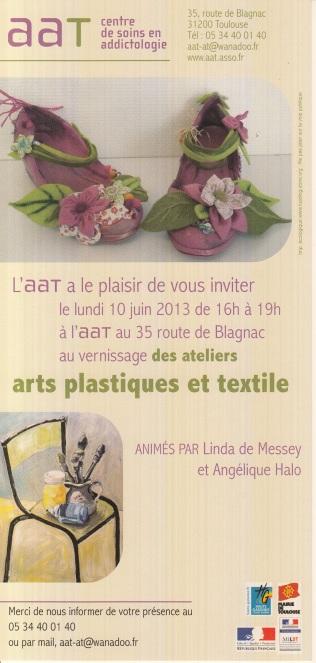Vernissage Ateliers Arts Plastiques et Expérimentation textile