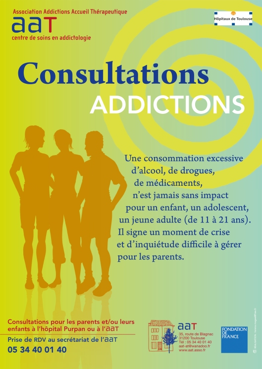 Consultations addictions à l'Hôpital Purpan
