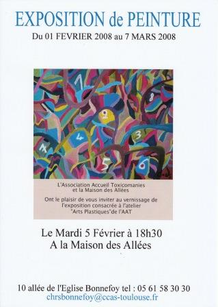 2008 03 Vernissage Arts Plastiques