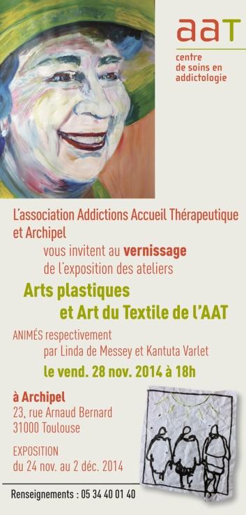 Vernissage et Exposition des ateliers Arts plastiques et Art du Textile