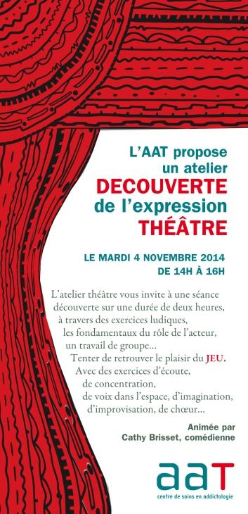 Séance Découverte de l'atelier Théâtre 2014